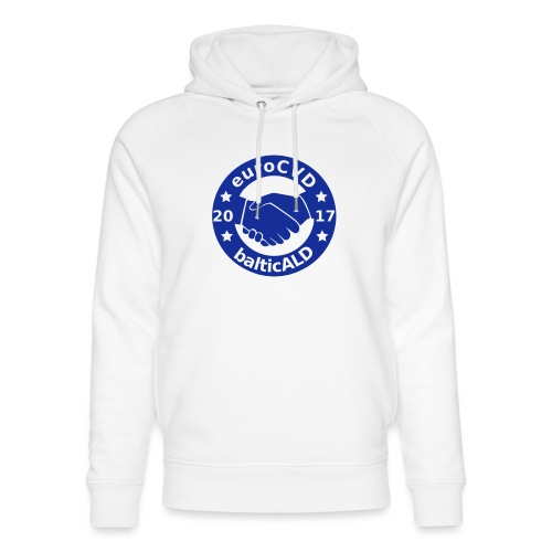 Joint EuroCVD - BalticALD conference mens t-shirt - Unisex Organic Hoodie by Stanley & Stella