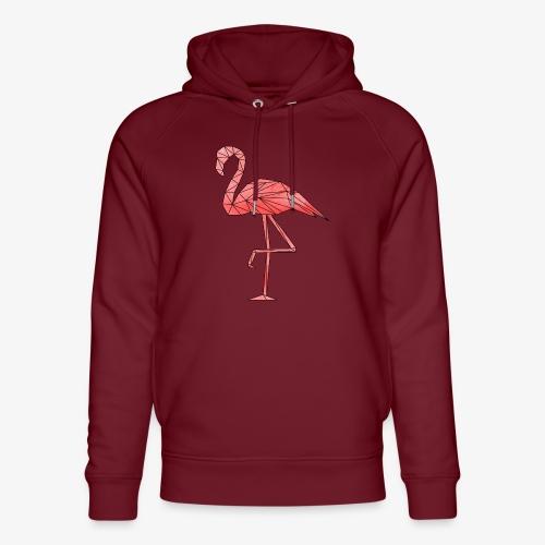 Flamingo Geometrisch - Unisex Bio-Hoodie von Stanley & Stella