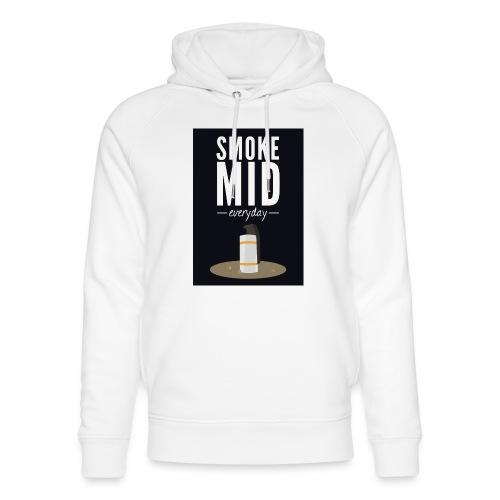 smoke mid - Uniseks bio-hoodie van Stanley & Stella