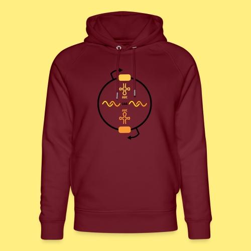 Biocontainment tRNA - shirt men - Uniseks bio-hoodie van Stanley & Stella