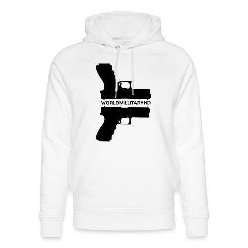 WorldMilitaryHD Glock design (black) - Uniseks bio-hoodie van Stanley & Stella