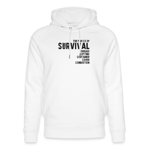 5Cs of Survival List - Ekologisk luvtröja unisex från Stanley & Stella