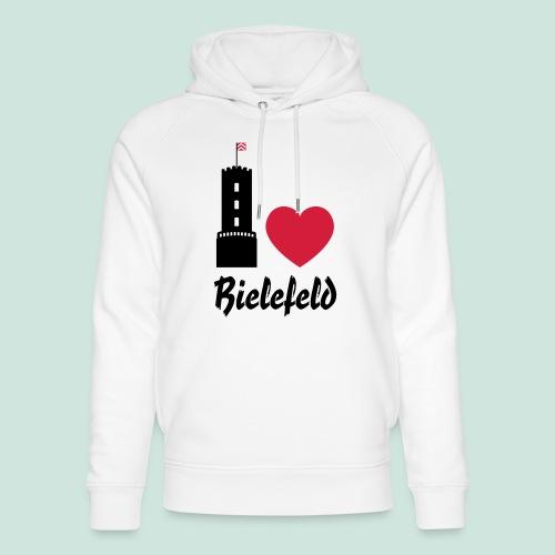 I love Bielefeld - Unisex Bio-Hoodie von Stanley & Stella