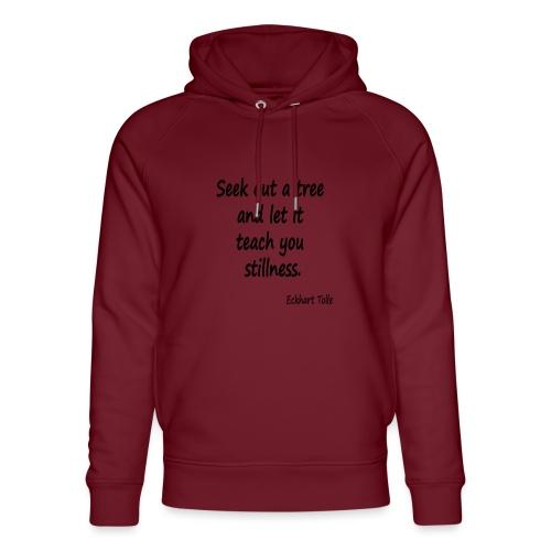 Tree for Stillness - Unisex Organic Hoodie by Stanley & Stella