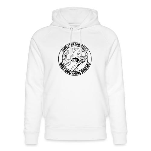 Haroldson Computer's Deadly Robot Animal Sanctuary - Unisex Organic Hoodie by Stanley & Stella