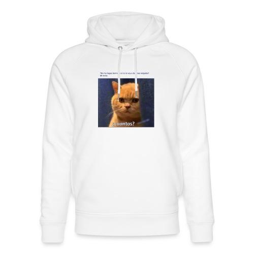 Cat nalgadas - Sudadera con capucha ecológica unisex de Stanley & Stella