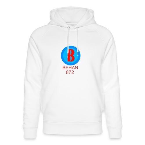 Rep that Behan 872 logo guys peace - Unisex Organic Hoodie by Stanley & Stella