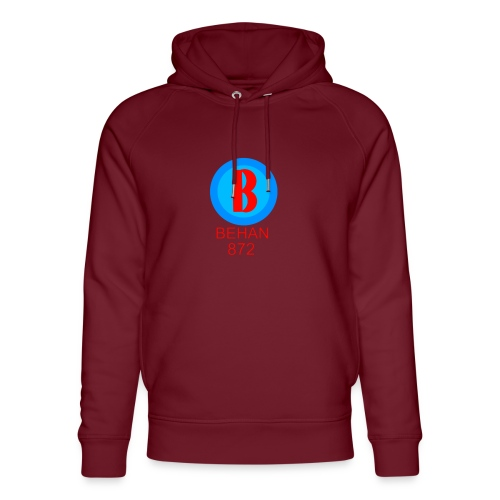 Rep that Behan 872 logo guys peace - Unisex Organic Hoodie by Stanley & Stella