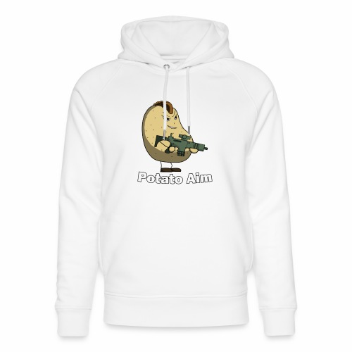 Mr Potato Aim - Unisex Organic Hoodie by Stanley & Stella