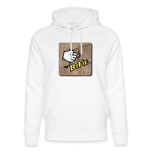 BrutalFissure Tee - Stanley & Stella unisex hoodie af økologisk bomuld