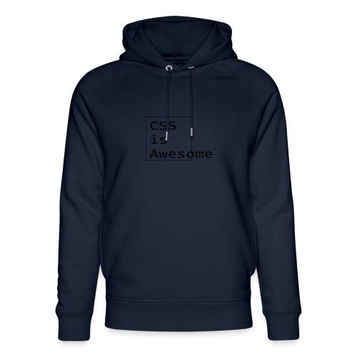 cssawesome - black - Uniseks bio-hoodie van Stanley & Stella