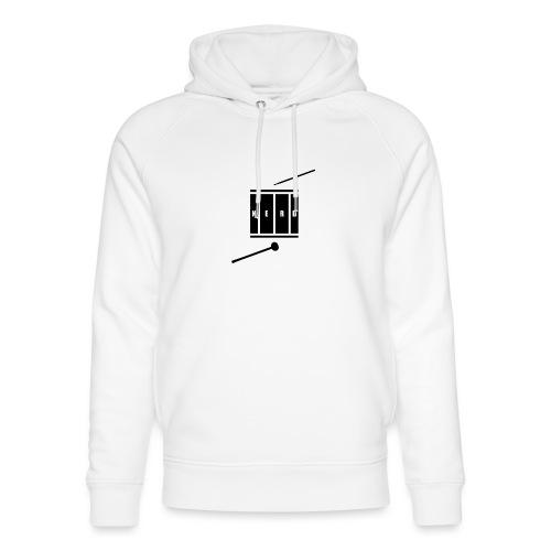 Nerd_Logo Black - Stanley & Stella unisex hoodie af økologisk bomuld