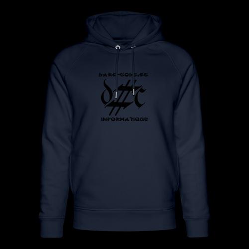 Dark-Code Black Gothic Logo - Sweat à capuche bio Stanley & Stella unisexe