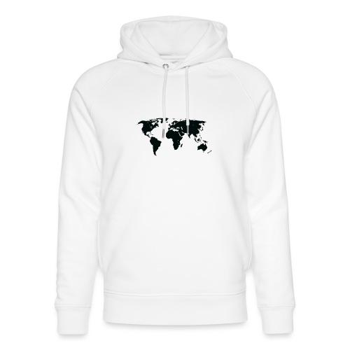 World - Stanley & Stella unisex hoodie af økologisk bomuld