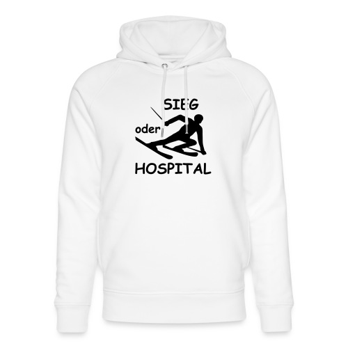 Sieg oder Hospital - Unisex Bio-Hoodie von Stanley & Stella