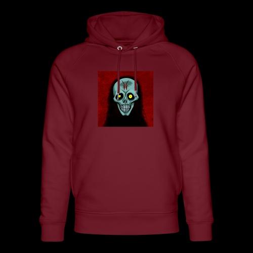 Ghost skull - Unisex Organic Hoodie by Stanley & Stella