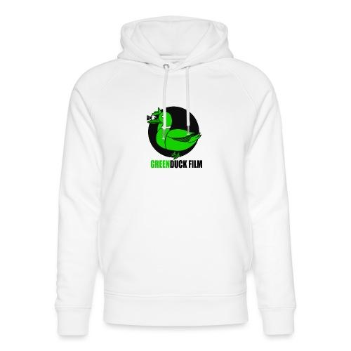 Greenduck Film Logo w. black letters - Stanley & Stella unisex hoodie af økologisk bomuld