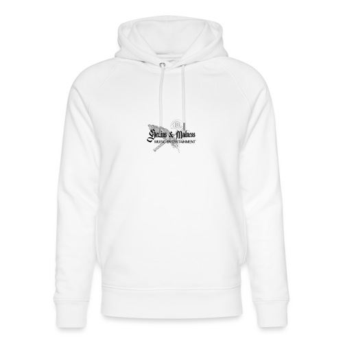 Genius and Madness White Edition - Unisex Bio-Hoodie von Stanley & Stella