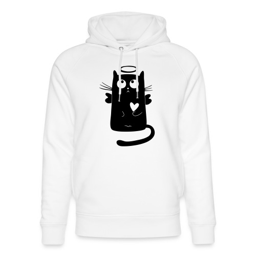 Engels-Katze - Unisex Bio-Hoodie von Stanley & Stella