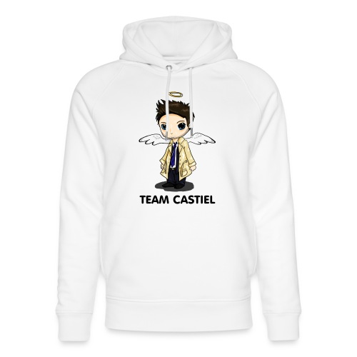 Team Castiel (light) - Unisex Organic Hoodie by Stanley & Stella