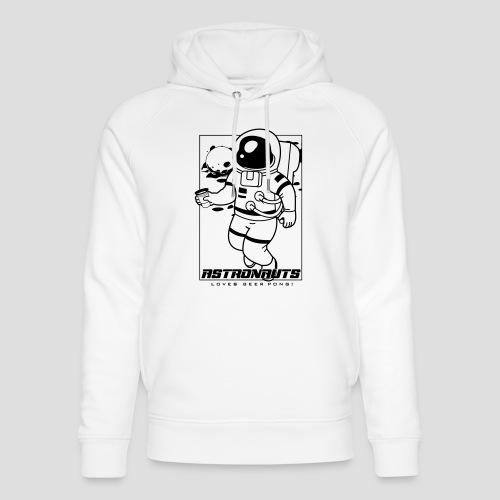 Astronauts loves Beerpong - Unisex Bio-Hoodie von Stanley & Stella