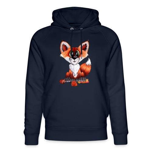 llwynogyn - a little red fox - Stanley & Stella unisex hoodie af økologisk bomuld