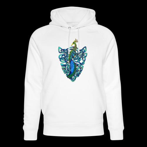 Peacock - Unisex Organic Hoodie by Stanley & Stella