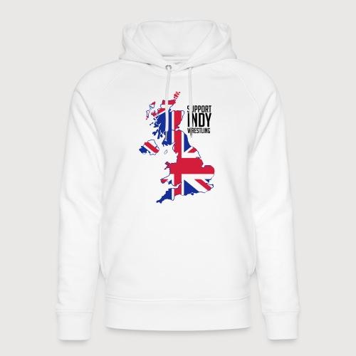 Indy Britain - Unisex Organic Hoodie by Stanley & Stella