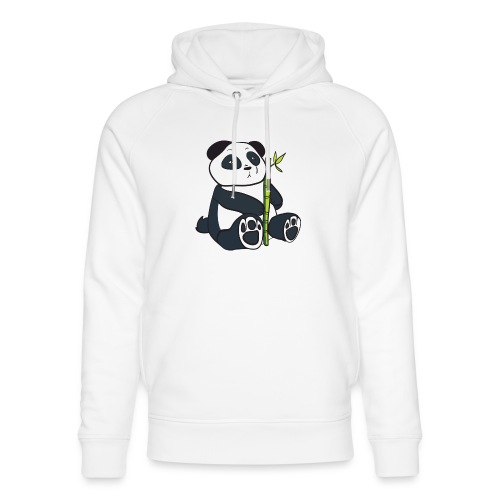 Oso Panda con Bamboo - Sudadera con capucha ecológica unisex de Stanley & Stella