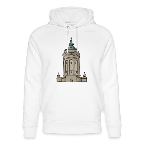 Wasserturm Mannheim c - Unisex Bio-Hoodie von Stanley & Stella