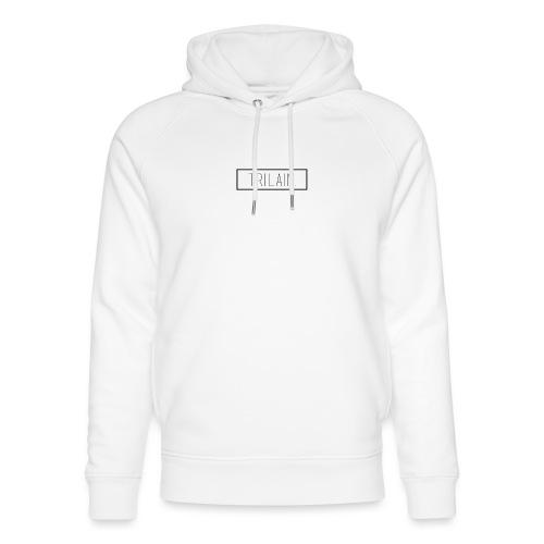 Trilain - Box Logo T - Shirt White - Uniseks bio-hoodie van Stanley & Stella