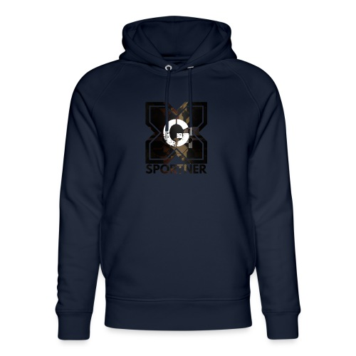 Logo édition limitée GX SPORTNER - Sweat à capuche bio Stanley & Stella unisexe