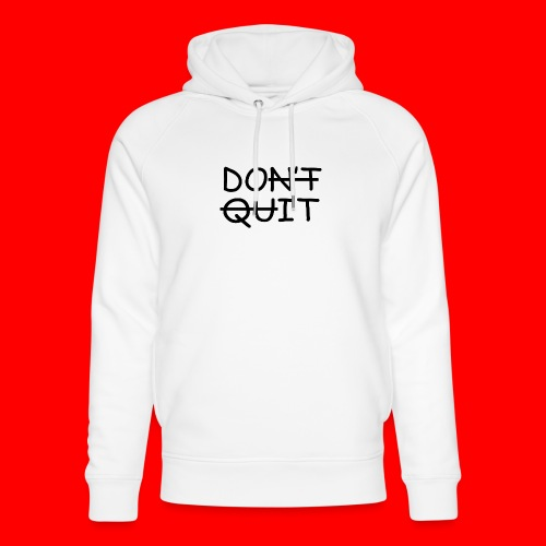 Don't Quit, Do It - Stanley & Stella unisex hoodie af økologisk bomuld