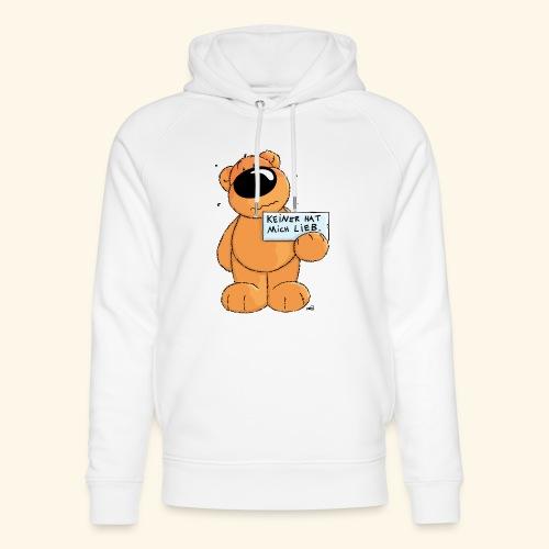 chris bears Keiner hat mich lieb - Unisex Bio-Hoodie von Stanley & Stella