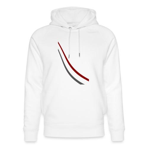 stripes shirt png - Uniseks bio-hoodie van Stanley & Stella