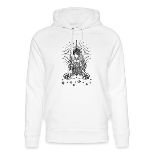 Boho Yoga Mädel Happy Life - Unisex Bio-Hoodie von Stanley & Stella