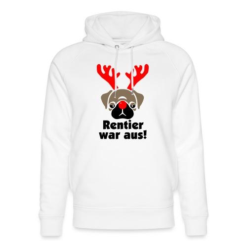 Rentier war aus - Unisex Bio-Hoodie von Stanley & Stella