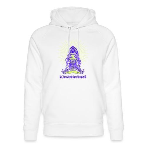 Yogafashion Hippie Ganesha dein Glücksgott - Unisex Bio-Hoodie von Stanley & Stella