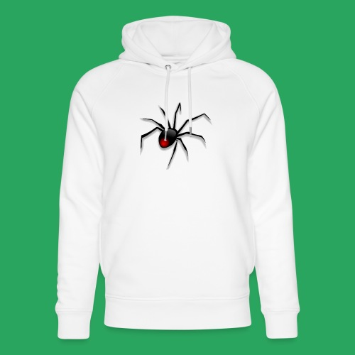 spider logo fantasy - Felpa con cappuccio ecologica unisex di Stanley & Stella
