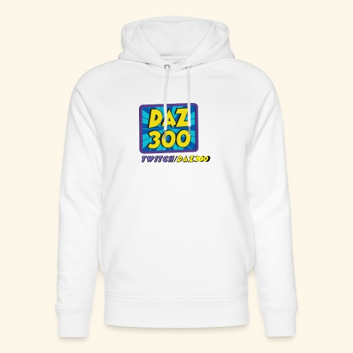 daz logo 2 0 - Unisex Organic Hoodie by Stanley & Stella