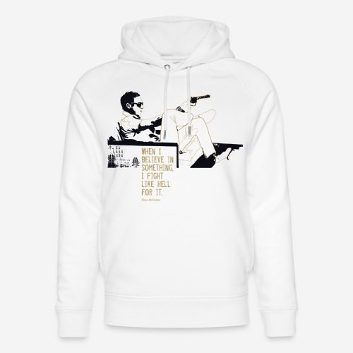 When I Believe in something! Gold - Unisex Bio-Hoodie von Stanley & Stella