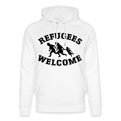 Refugees Welcome - Sweat à capuche bio Stanley & Stella unisexe