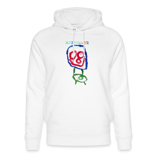 happiwær2 - Stanley & Stella unisex hoodie af økologisk bomuld