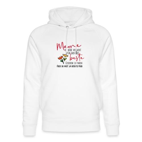 Mamas bestes Geschenk - Unisex Bio-Hoodie von Stanley & Stella