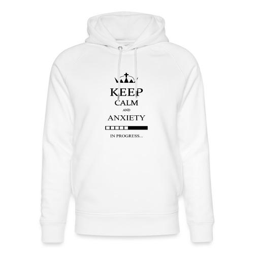 keep_calm - Felpa con cappuccio ecologica unisex di Stanley & Stella