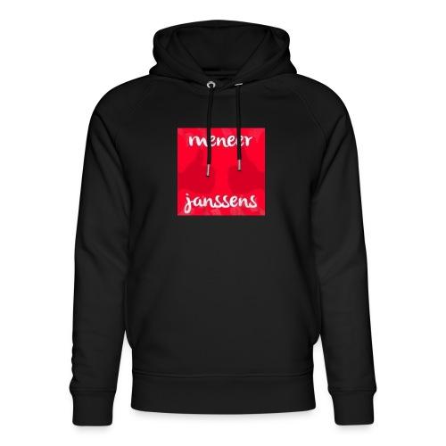 Sweater Meneer Janssens - Uniseks bio-hoodie van Stanley & Stella