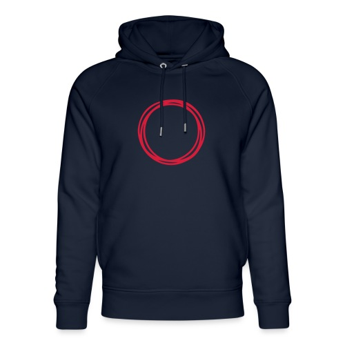 Circles and circles - Unisex Organic Hoodie by Stanley & Stella