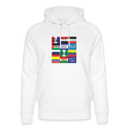 Pray for the World - Uniseks bio-hoodie van Stanley & Stella