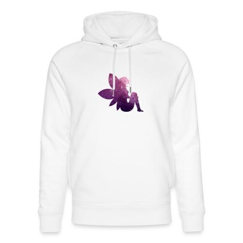 Purple fairy - Unisex økologisk hettegenser fra Stanley & Stella