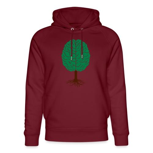 Brain tree - Uniseks bio-hoodie van Stanley & Stella